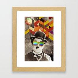 Public Figures Collection - Chaplin Framed Art Print