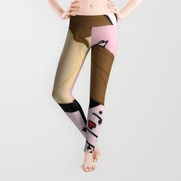 Knock Knock! Chaeyoung Pink Leggings
