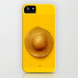 The Golden Hat iPhone Case