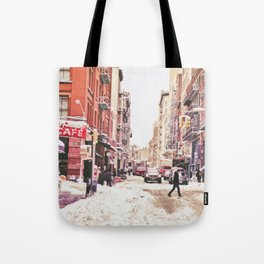 New York City Snow Soho Tote Bag