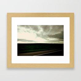 JUST GO! Framed Art Print