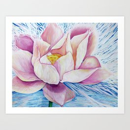 Lotus~Ono's Light Art Print