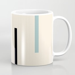Abstract Minimal Retro Stripes Acro Coffee Mug