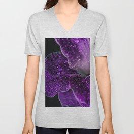 Purple Dew Unisex V-Neck