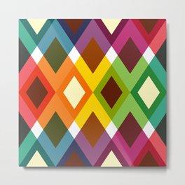 Geometric Pattern #19 (diamonds) Metal Print