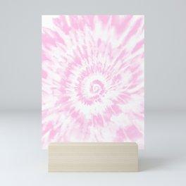 Lighter Pink Tie Dye Mini Art Print