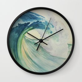 Incoming Energy Wave Wall Clock