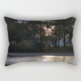 Sunset over River Ness Inverness Rectangular Pillow