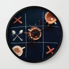 Breakfast Game Wall Clock