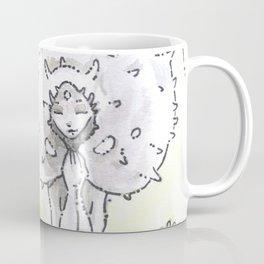 Empire of Mushrooms: Lycoperdon perlatum Coffee Mug