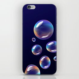 Holographic Bubbles iPhone Skin