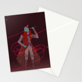 #1 Space Dad Stationery Cards