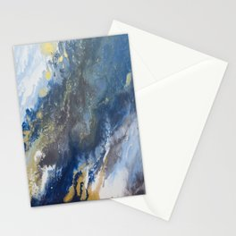 Golden Glitter Commits Stationery Cards