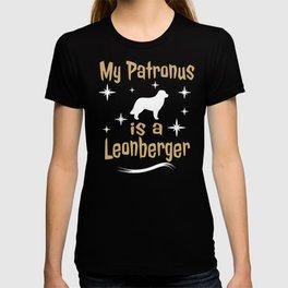 My Patronus Is A Leonberger Dog  T-shirt
