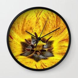 Inside my Tulip - Color Wall Clock