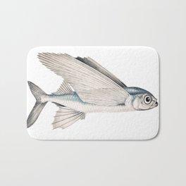 fish poisson volant Bath Mat