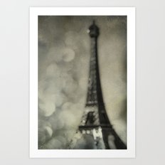 To Paris, With Love Art Print