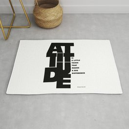 Lab No. 4 - Life Inspirational Quotes Of Attitude Inspirational Quotes Poster Rug