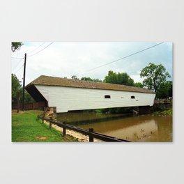 Elizabethton, TN, Covered Bridge 2008 Canvas Print