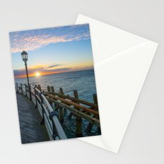 Sun Rise At Worthing Stationery Cards