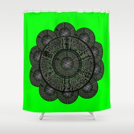 Flower Dayz Shower Curtain