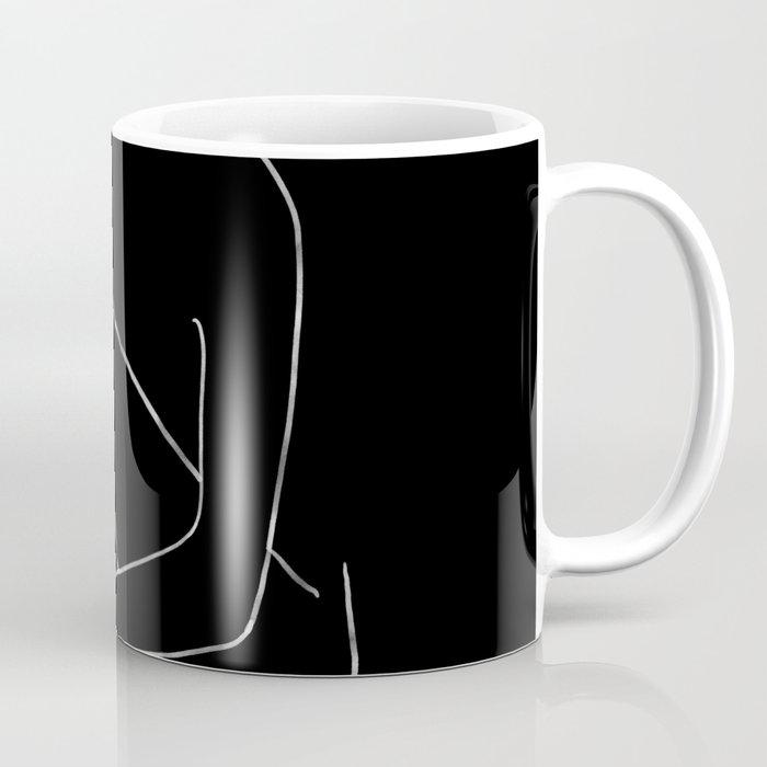 line art 4 Coffee Mug