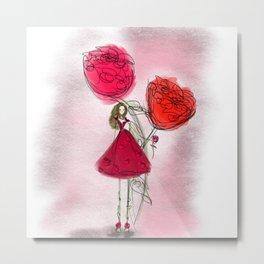 Flower Girl: #2 Metal Print