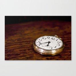 Waltham Pocket Watch #002 Canvas Print