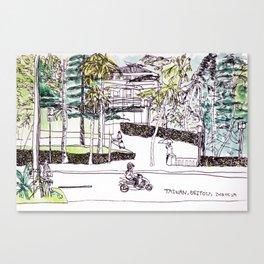 Sketch Park, Beitou,Taiwan Canvas Print