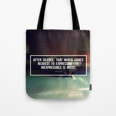 After Silence Tote Bag