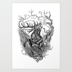 Low roar Art Print