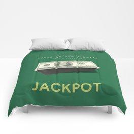 Show Me The Money - USD Casino Jackpot  Comforters