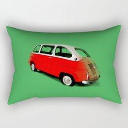 FIAT 600 Multipla Rectangular Pillow