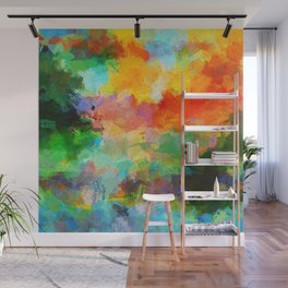 Abstract Painting - Landscape Wall Mural