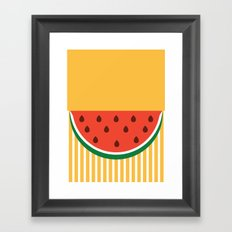Hello summer Framed Art Print