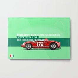 250P at Targa Florio Metal Print