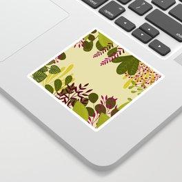 Belle plante Sticker