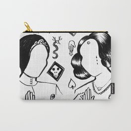 The Glitter Twins Carry-All Pouch