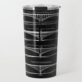Washington Bridge Proposal Blueprint Travel Mug