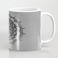 silent hill Mugs featuring Silent by Katie Duker