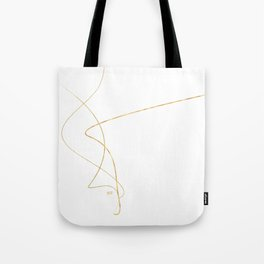 Kintsugi 2 #art #decor #buyart #japanese #gold #white #kirovair #design Tote Bag
