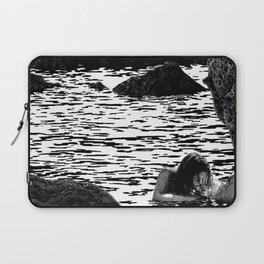 asc 903 - Les brisants (Marine life at the breakers) Laptop Sleeve