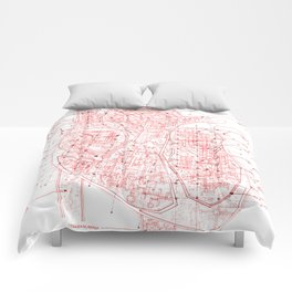 Chambers in Red Comforters