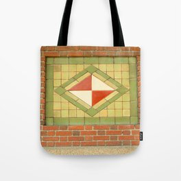 Ithaca's old train station Tote Bag