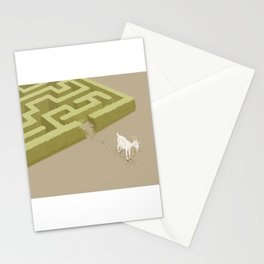 Do you solve problems by using logic or instinct? Stationery Cards