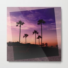 Postcards from the Beach Metal Print