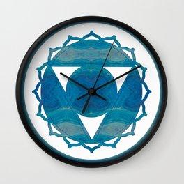 Dimensional Communications Abstract Chakra Art Wall Clock