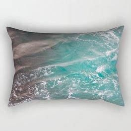 The Ferry from Shetland Rectangular Pillow