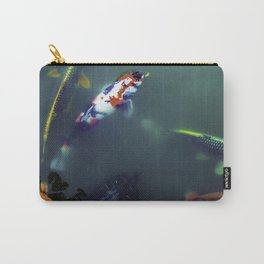 Turtle & Koi Carry-All Pouch