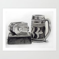 Stein Art Print